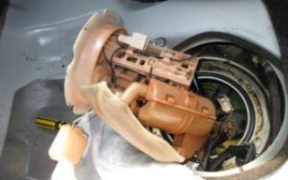 Замена топливного фильтра Nissan Qashqai