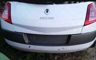 Задний бампер на Рено Меган 2