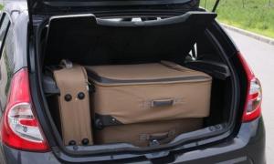 Устанавливаем багажник Рено Сандеро на рейлинги