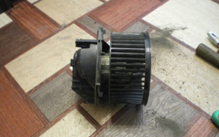 Ремонтируем вентилятор печки Рено Меган 2