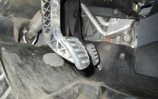 Проблемы с педалью сцепления на Рено Логан