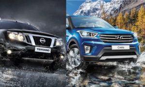 Сравнение Nisssan Terrano и Hyundai Creta