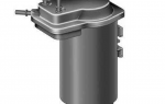 Меняем топливный фильтр на Рено Меган 2 поколения