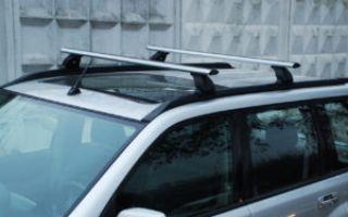 Виды багажников на крышу Nissan X-Trail