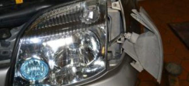 Фары и лампы Ниссан X-Trail T 31: техническое описание и процедура замены