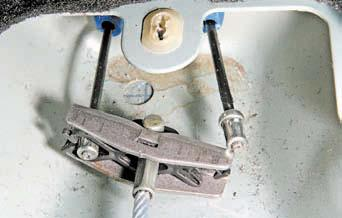 Регулировка ручного тормоза дастер
